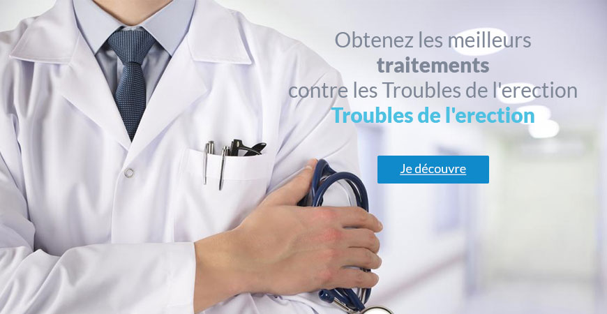 trouble de l'erection traitements